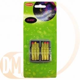 Boite de 6 crayons gras fluo maquillage