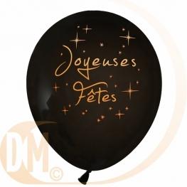 Ballon Joyeuses Fêtes par 8