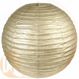 Lampion en papier effet métallisé