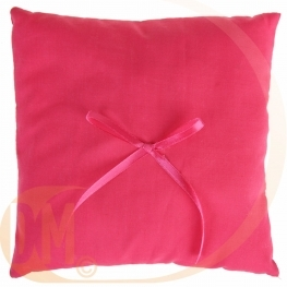 Coussin avec noeud ruban