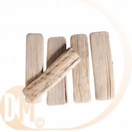 Lames de bois naturel