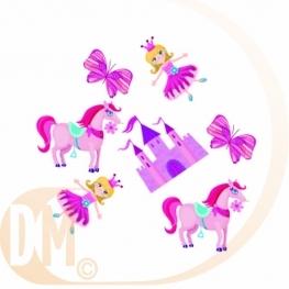 Confetti de table princesse par 16