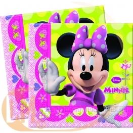 Serviette anniversaire Minnie