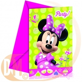 Carte invitation Minnie