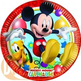 Assiette anniversaire Mickey