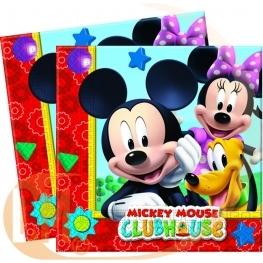 Serviette anniversaire Mickey