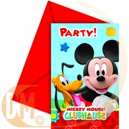 Carte invitation Mickey