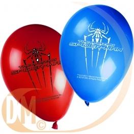 Ballon Spiderman x8