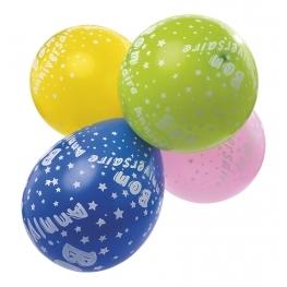 Balllon anniversaire etoile