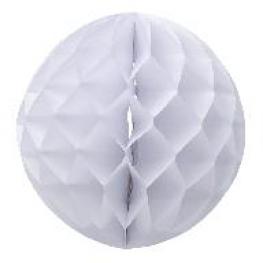 Boule papier Alvéolé 30 cm