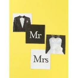 Serviette de table Mr & Mrs