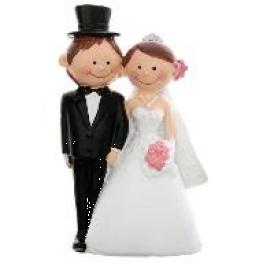 Figurine couple de mariés Mr & Mrs ou Mr & Mr ou Mrs & Mrs