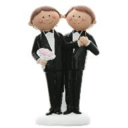 Figurine couple de mariés Mr & Mrs ou Mr & Mr ou Mrs & Mrs