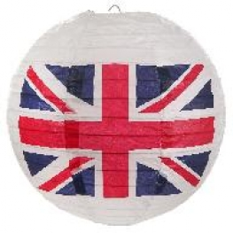 Lampion papier Angleterre (x2)