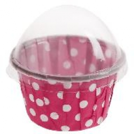 Cupcake pois (x6)