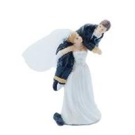 Couple de mariés fantaisie viens par là chéri