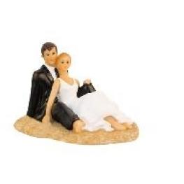 Couple de mari�s fantaisie calin