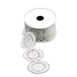 Ruban napperon dentelle coton
