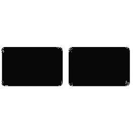�tiquette adh�sive rectangle par 16