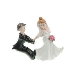 Couple de mariés retiens moi