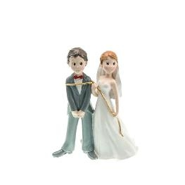 Couple de mariés lasso