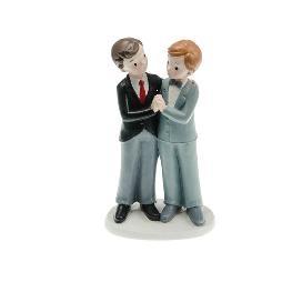 Couple de mariés gay garçons