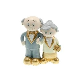 Couple de mariés noces d\\\'or