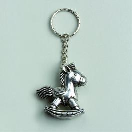Portes clés cheval à bascule par 2