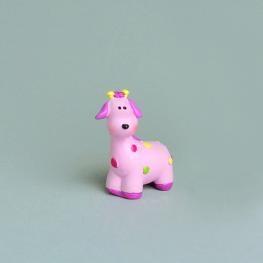 Girafe rose petit modéle
