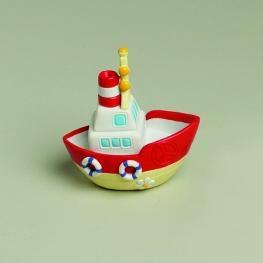 Tirelire petit bateau