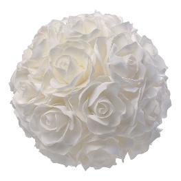 Boule de rose mousse