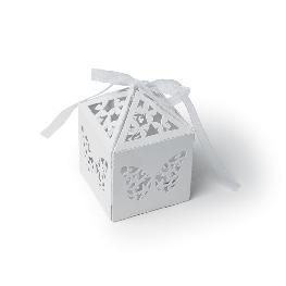 Cage a papillon mariage en papier x 20 pièces
