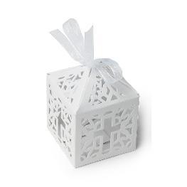 Cage à papier communion motif croix vendu par 10 pièces