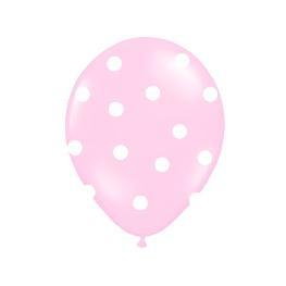 ballon baptême rose