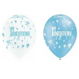 Ballon impression Baptême tout autour x 8