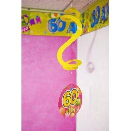 Suspension spirale Anniversaire POP