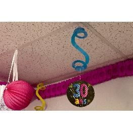 Suspension spirale anniversaire Chic