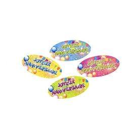 Confetti de table en papier Anniversaire pop