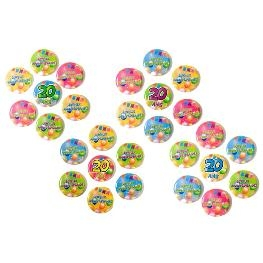 Badge métal Anniversaire Pop