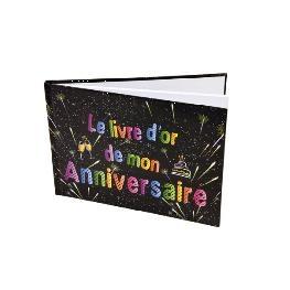 Livre d'or joyeux Anniversaire CHIC