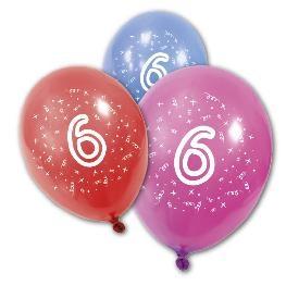 Ballon imprimé âge aux choix