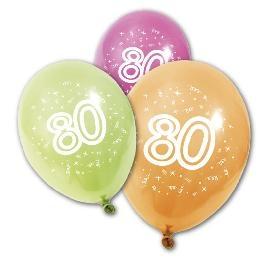 Ballon imprimé ' Age ' x 8