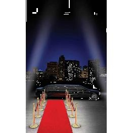 Tapis Luxe rouge