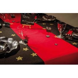 Chemin de table Tapis Rouge Luxe