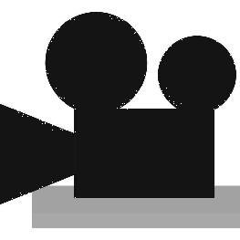 Centre de table camera Ardoise