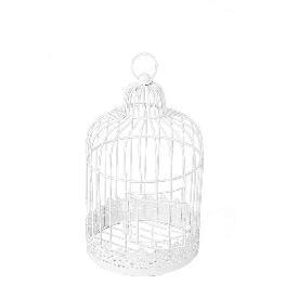 Urne mariage cage vintage