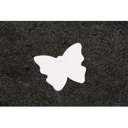 Etiquette papillon