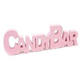 Déco de table Candy Bar