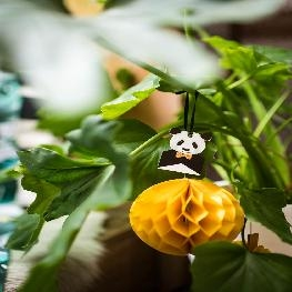 Etiquette panda