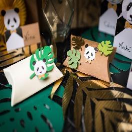 Confettis panda